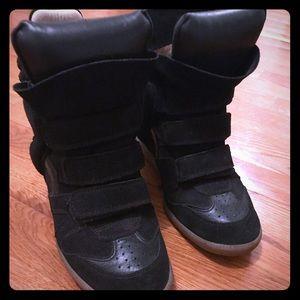 Isabel Marant etoile wedge sneakers